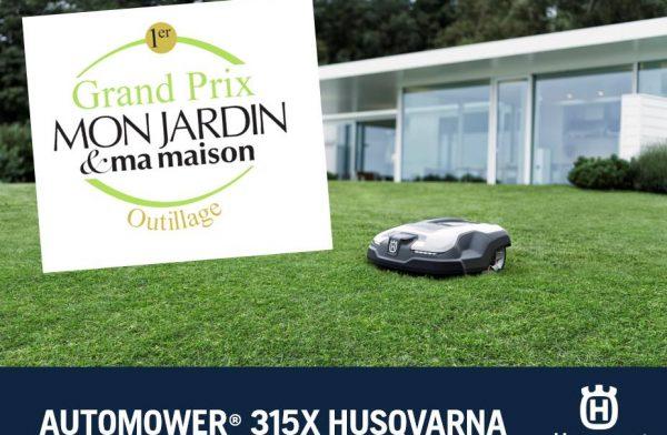 grand prix du robot de tonte husqvarna