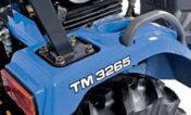tracteur iseki TM3267 ailes robustes en ABS