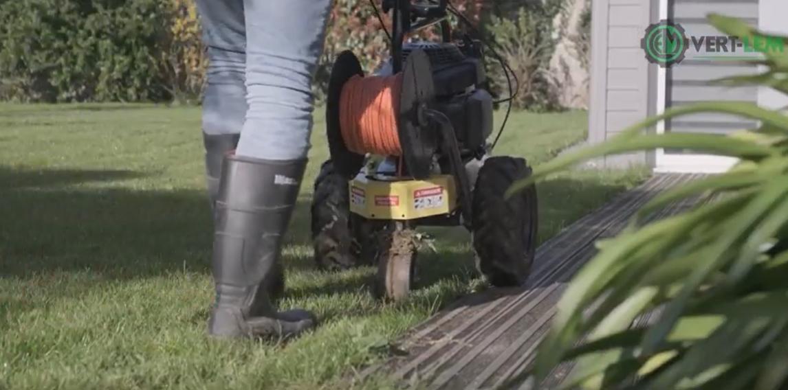 enfouissement cable periopherique robot de tonte Husqvarna